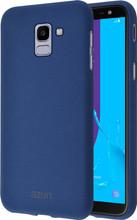 Azuri flexible sand Galaxy J6 (2018) Back Cover Blauw