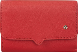 Samsonite Miss Journey SLG Wallet 12CC Scarlet Red