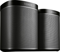 Sonos Play:1 Zwart Duo Pack