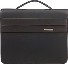 Samsonite Stationery Spectrolite 2 Zip Folder A4 DET B Black