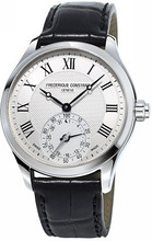 Frederique Constant Horological Gents Classic Wit/Zwart