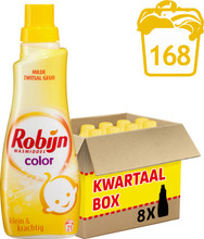 Robijn Klein & Krachtig Zwitsal: 8x 0,75 liter