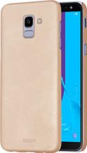 Azuri metallic soft touch Galaxy J6 (2018) Back Cover Goud