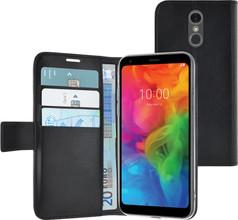 Azuri Wallet Magneet LG Q7 Book Case Zwart