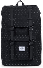 Herschel Little America Mid-Volume Black Gridlock