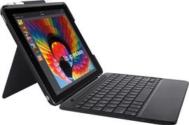 Logitech iPad (2018) Slim Combo Toetsenbord Hoes QWERTY