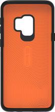 GEAR4 Battersea Galaxy S9 Back Cover Zwart/Oranje