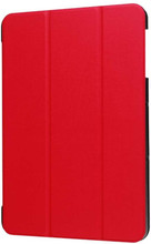 Just in Case Samsung Galaxy Tab S4 Smart Tri-Fold Case Rood