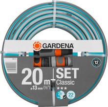 "Gardena Classic Slang 1/2"" 20 m Inclusief Armaturen"