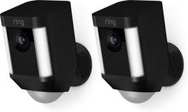 Ring Spotlight Cam Battery Zwart Duopack