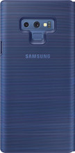 Samsung Note 9 LED View Cover Book Case Blauw