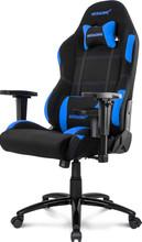 AKRACING Gaming Chair Core EX Wide -  Zwart / Blauw