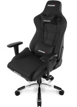 AKRACING Gaming Chair Master Pro - PU Leather Zwart