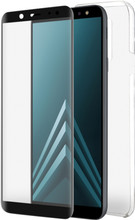 Azuri TPU Samsung Galaxy A6 Plus (2018) Full body Zwart