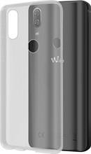 Azuri Glossy TPU Wiko View pro Transparant