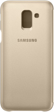 Samsung J6 (2018) Wallet Cover Goud