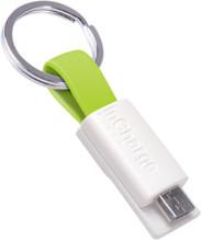 InCharge Micro-USB Kabel 3,8cm Limoengroen