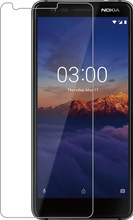 Azuri Gehard Glas Nokia 3.1 Screenprotector Glas