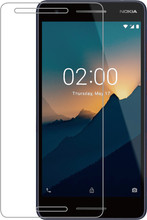 Azuri Gehard Glas Nokia 2.1 Screenprotector Glas