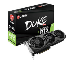 MSI GeForce RTX 2080 DUKE OC 8G