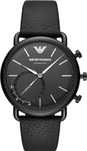 Emporio Armani Connected Aviator Zwart