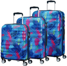American Tourister WaveBreaker Set A 3 Neon Palms