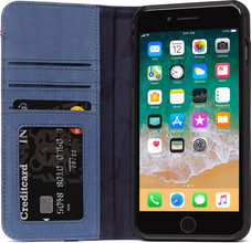 Decoded Leather Wallet Case iPhone 8 Plus   7Plus Blue 40f7f3e294b5