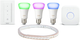 Philips HUE Color Starter Kit + 2 meter Lightstrip