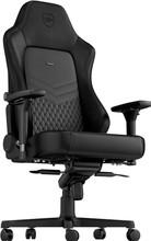 Noblechairs HERO leren Gaming stoel - zwart/zwart