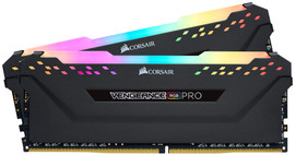 Corsair Vengeance 16GB DDR4 DIMM 2666 Mhz/16 (2x8GB) Black