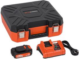 Powerplus Acculader + Accu 20V 1,5 Ah Li-Ion