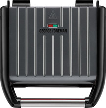 George Foreman Steel Grill Family Grijs