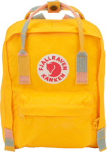Fjällräven Kånken Mini Warm Yellow-Random Blocked