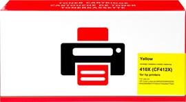 Huismerk HP 410X Toner Geel XL (CF412X)