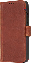 Decoded Leather Card Wallet iPhone Xr Book Case Bruin