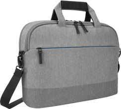 Targus CityLite 12-15.6 Slim Briefcase Laptop Case - Grey