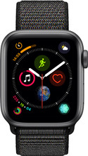 Apple Watch Series 4 40mm Space Gray Alu/Zwarte Nylon Sportb