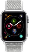 Apple Watch Series 4 40mm Zilver Alu/Grijze Nylon Sportband