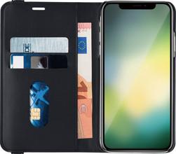Azuri Luxe 2-in-1 Wallet iPhone Xr Book Case Zwart