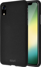 Azuri Flexible Sand iPhone Xr Back Cover Zwart