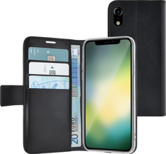Azuri Wallet Magneet iPhone Xr Book Case Zwart