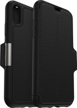 Otterbox Strada iPhone XS Book Case Zwart