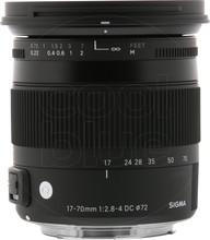 "Sigma 17-70mm f/2.8-4 DC Macro OS HSM ""C"" Canon"