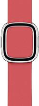 Apple Watch 40mm Modern Leren Horlogeband Pioen - Large