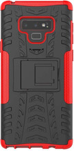 Just in Case Rugged Hybrid Note 9 Back Cover Rood