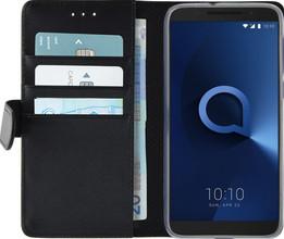 Azuri Wallet Magneet Alcatel 3 Book Case Zwart