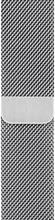 Apple Watch 44mm Polsband Milanees Zilver