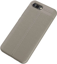 Just in Case Soft Design TPU Honor 10 Back Cover Grijs