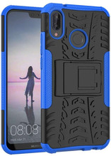 Just in Case Rugged Hybrid P20 Lite Back Cover Blauw
