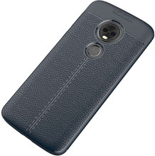 Just in Case Soft Design TPU Moto E5 Back Cover Blauw